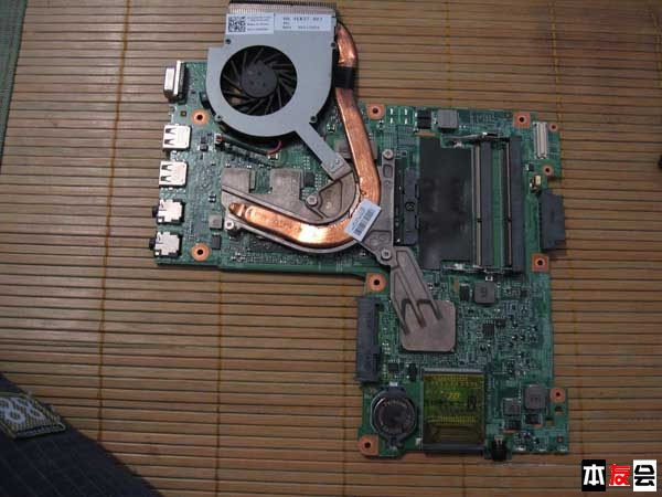 戴尔n4030笔记本拆机图解教程
