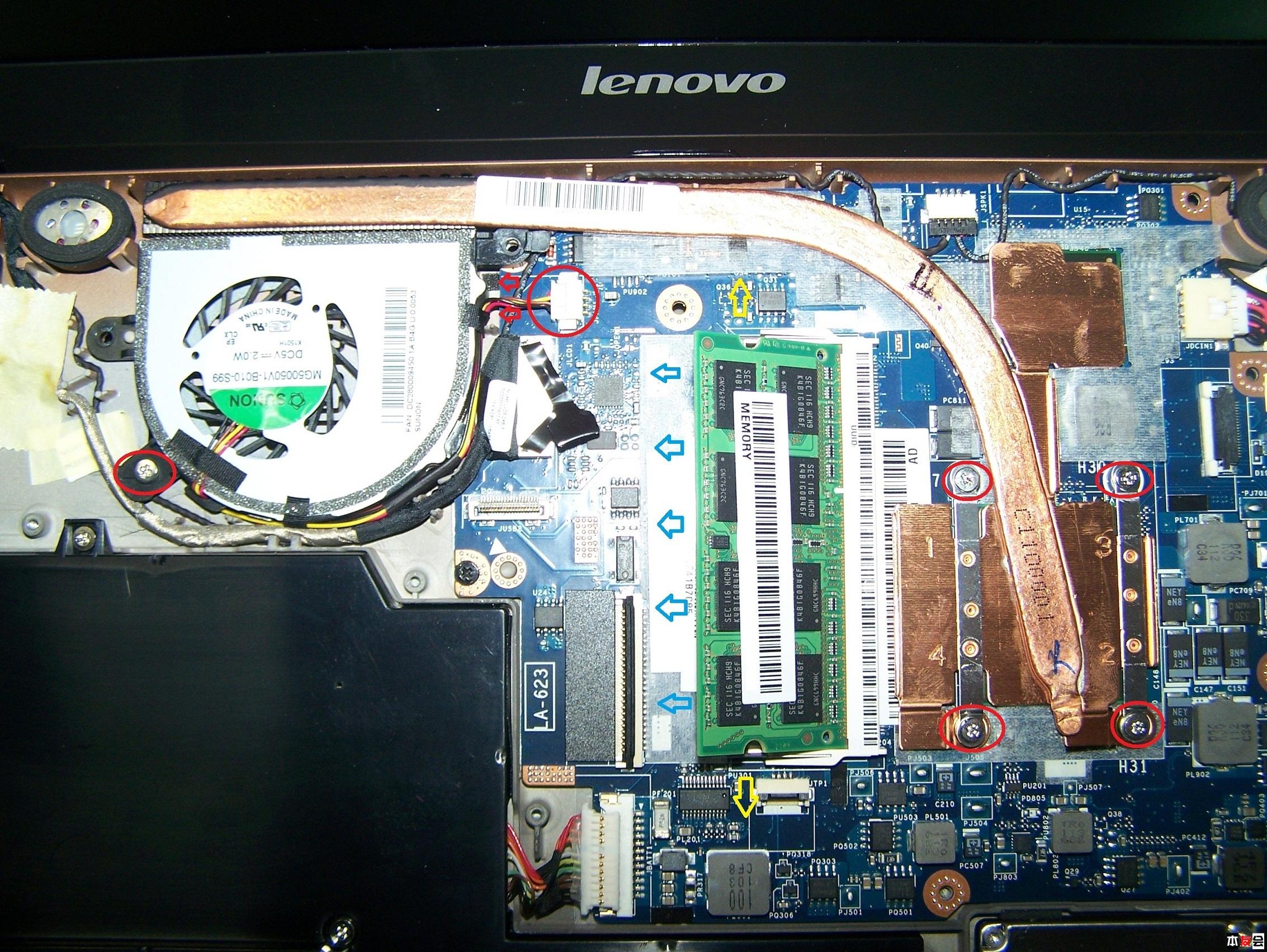联想z475主板电路图