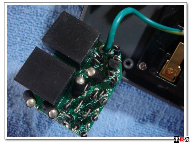 防雷滤波电路