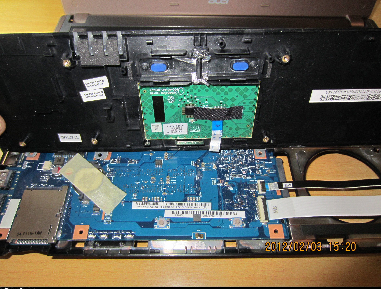 宏碁4750G拆机及CPU独显换硅脂