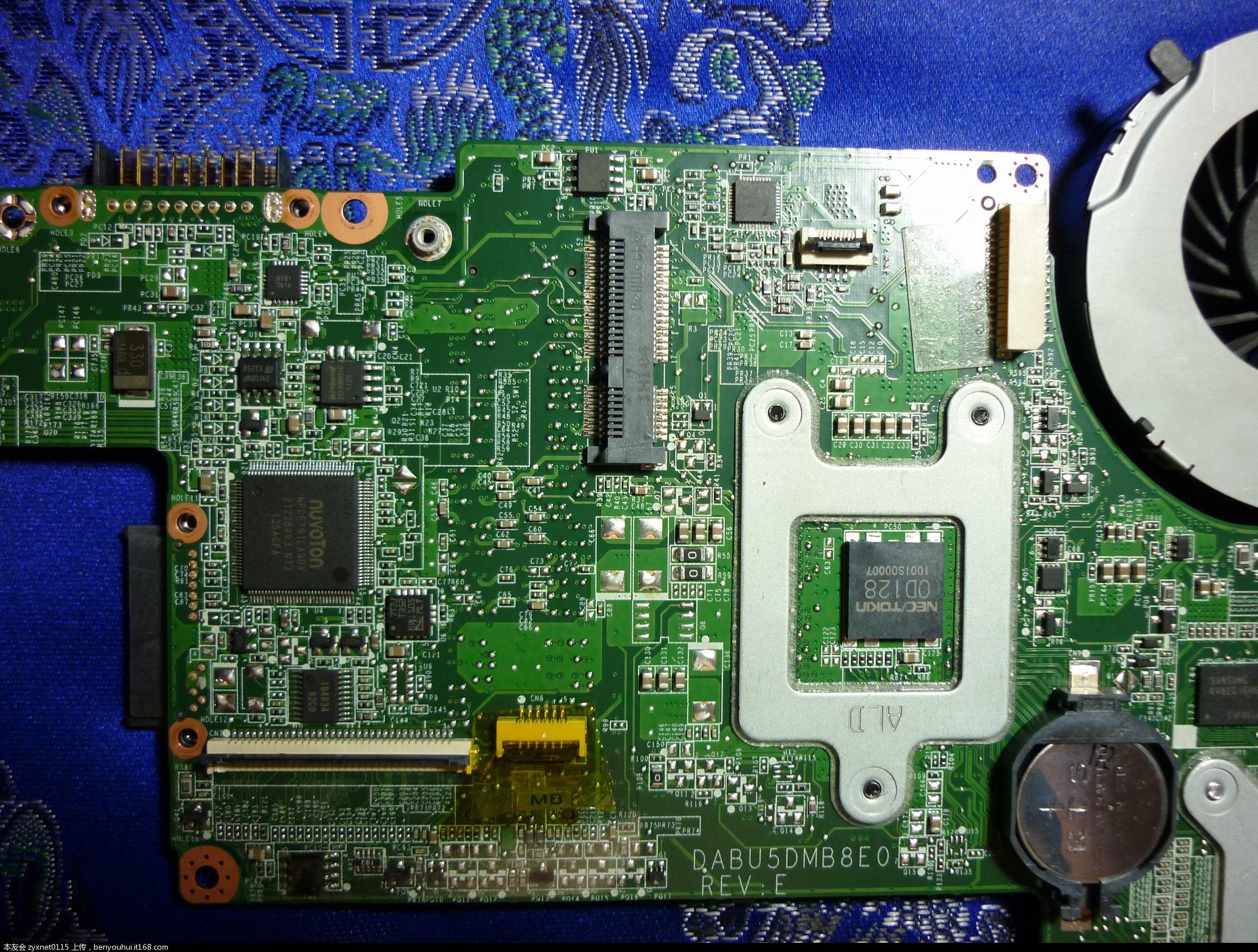 电路板 平面图 2189_1658