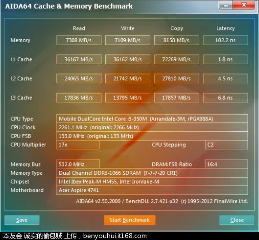 Acer4741g-缓存与内存测试.png