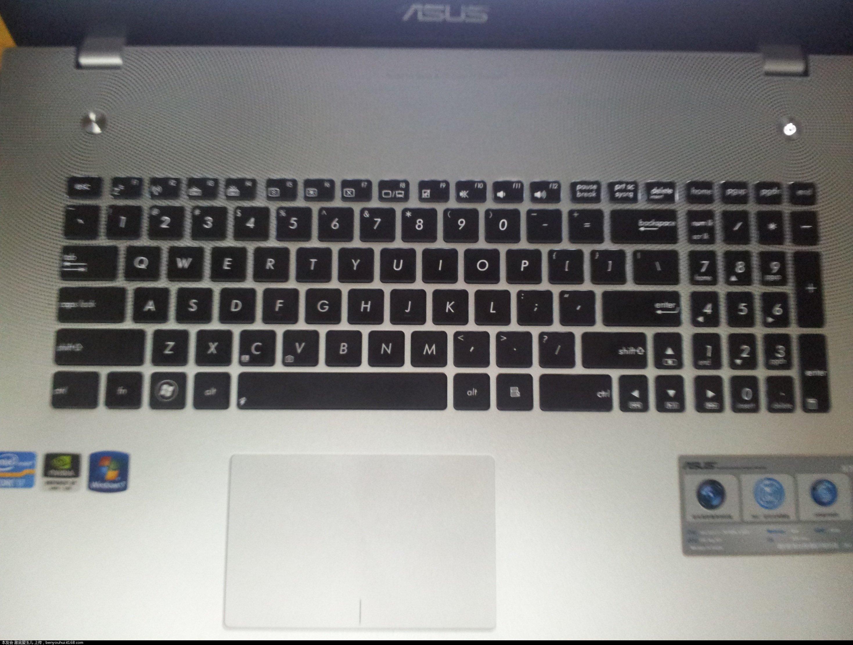 拆笔记本键盘图解