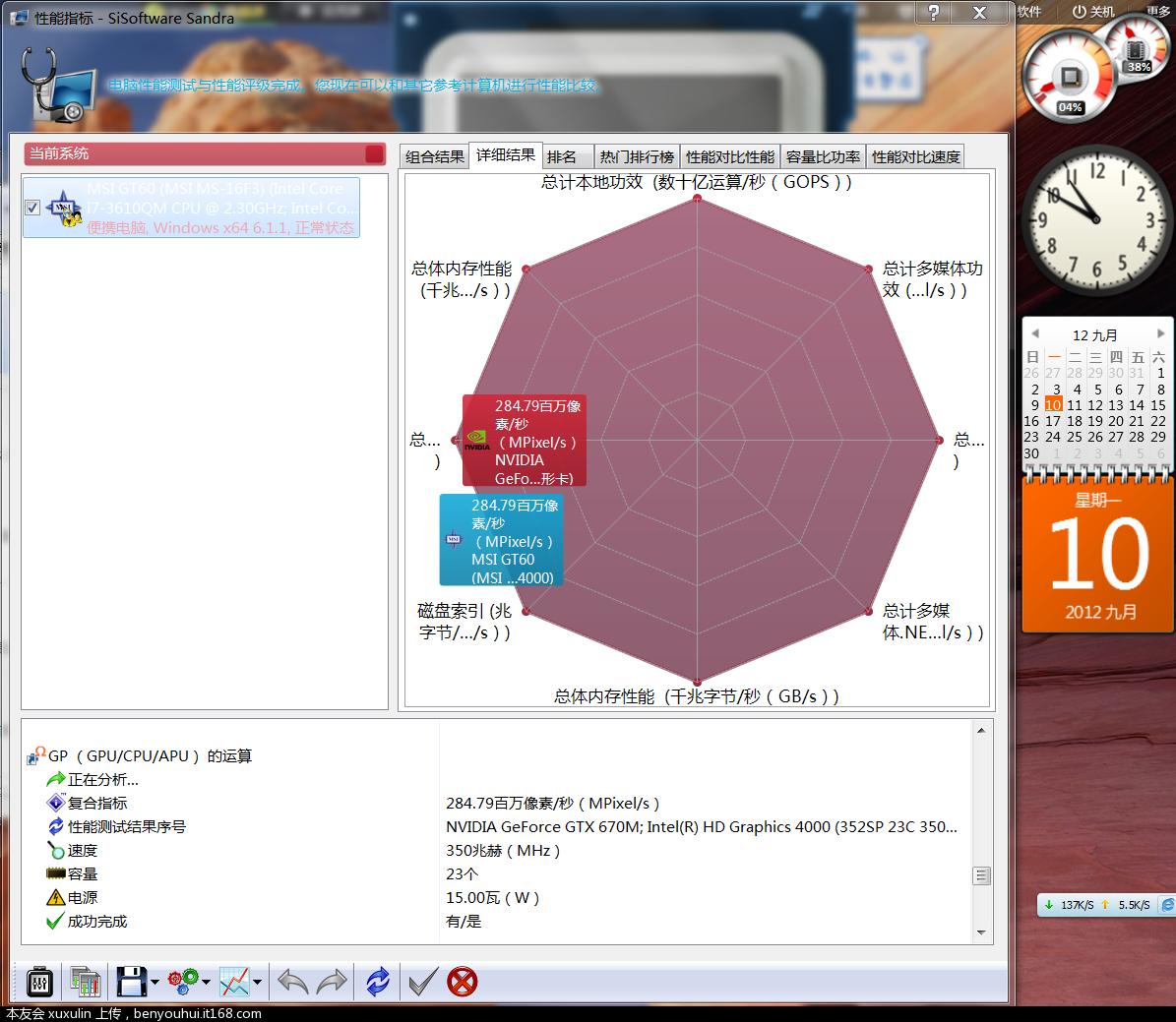 Sisoftware Sandra 截图9.PNG