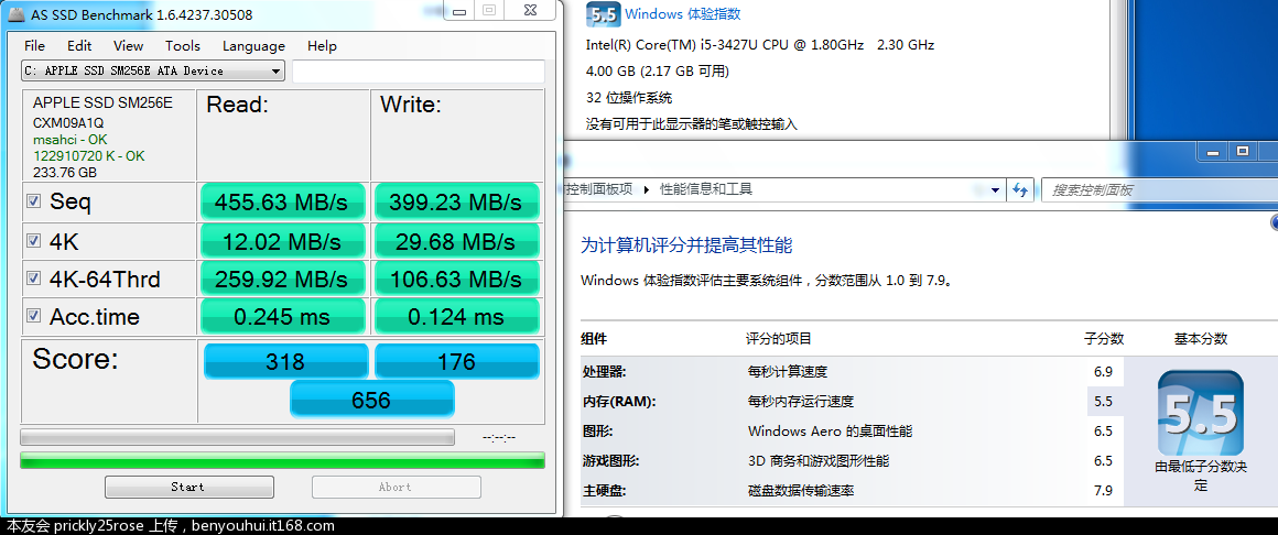 Mac Book Air i5 高配+256G SSD
