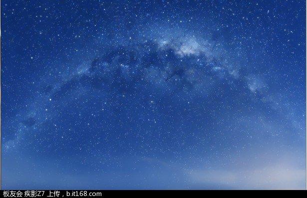 【高清壁纸-璀璨的星空】_ipad mini论坛图片