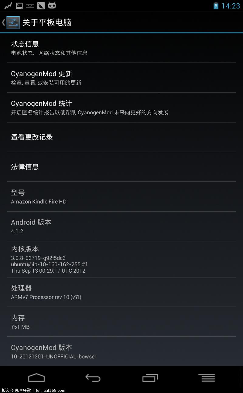 ...10 For Kindle Fire HD7 最新进展,已放出Alpha 测试版 Kindle Fire平...
