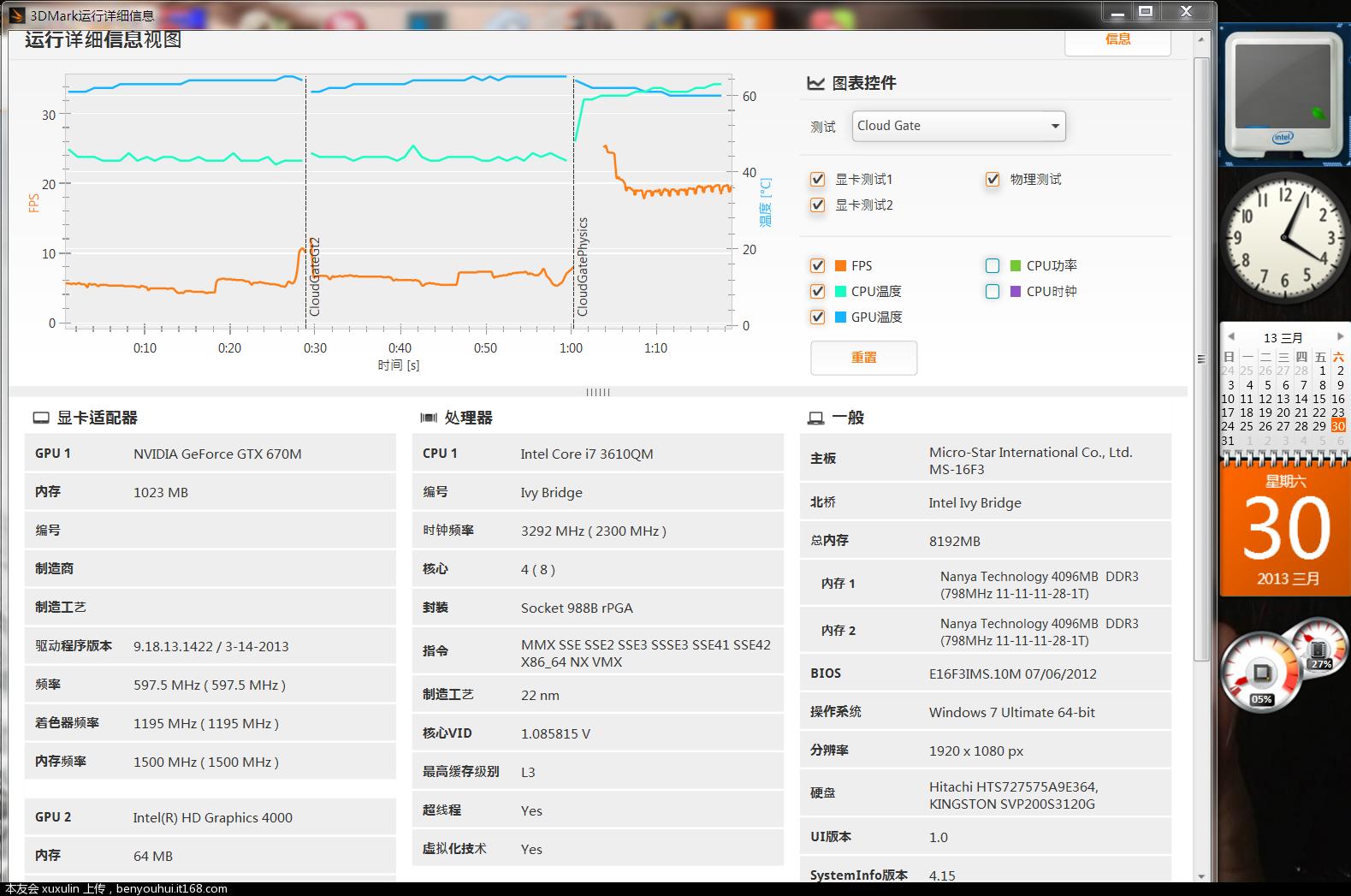 11-2、Cloud Gate 测试自定义设置1080P所有最高运行信息.PNG