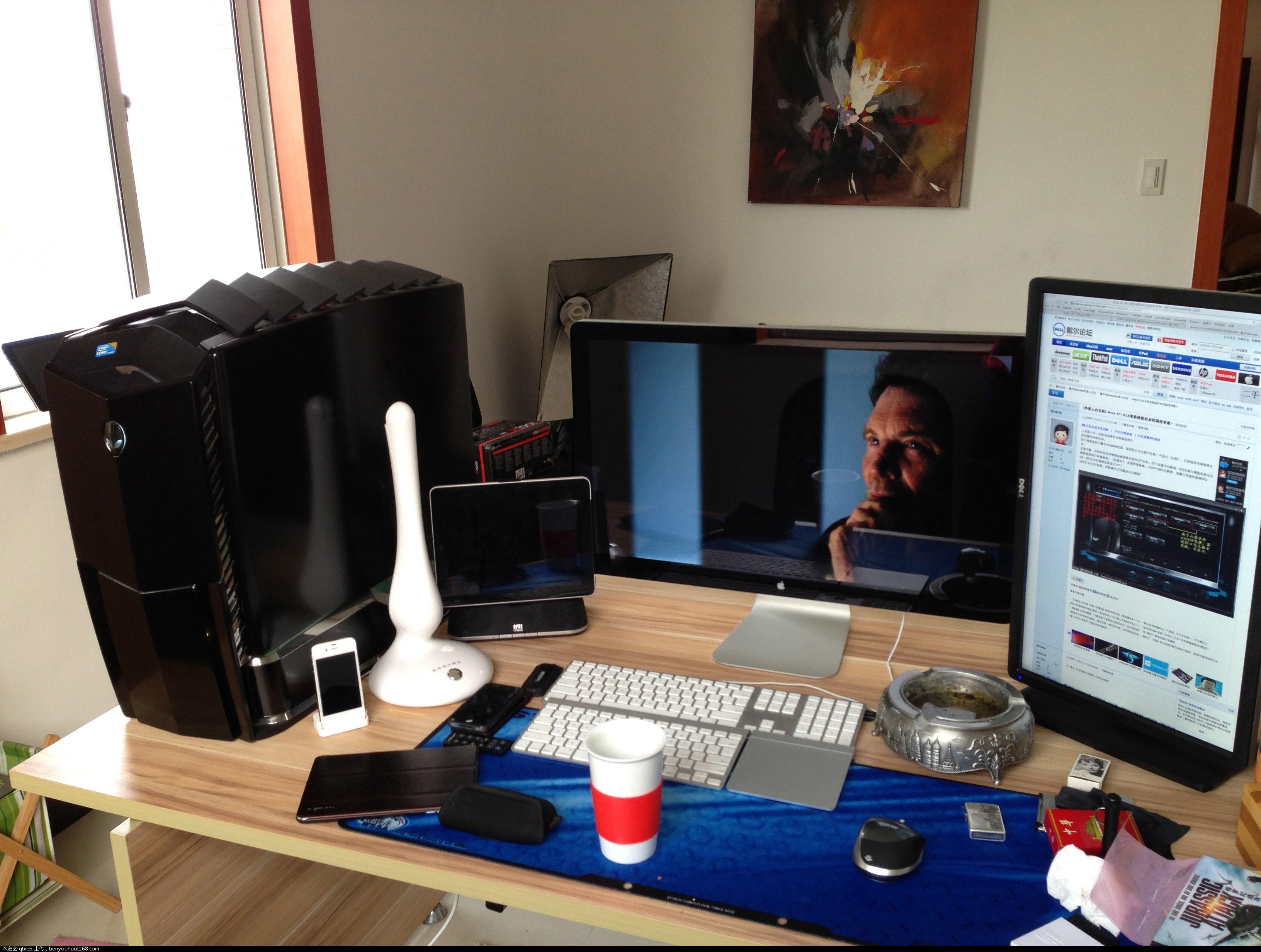 7-64位外星人家庭版(装了bootcamp,原装27寸显示器苹果键盘可调节亮度