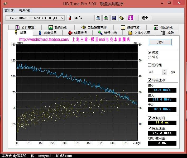 HD TUNE 机械盘.JPG