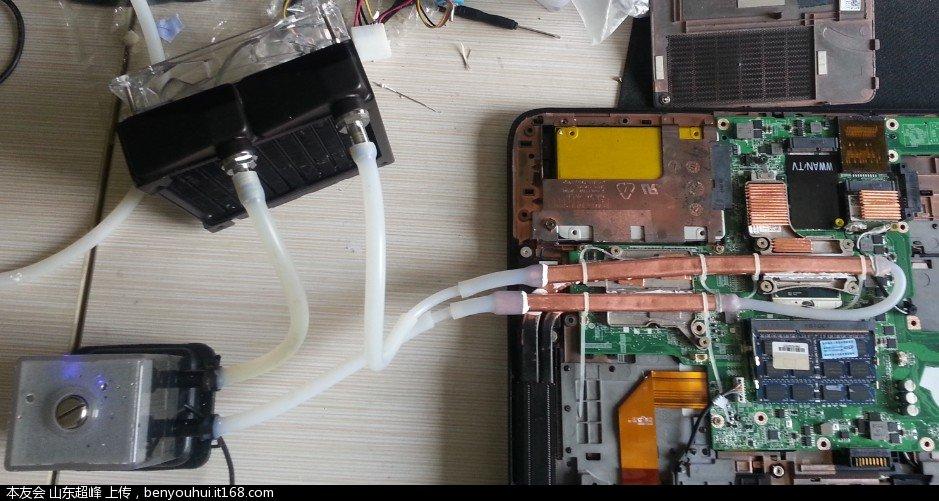 xps15 l502x ssd升级 cpu升级 主板更换 电源问题解决 散热改良 水冷