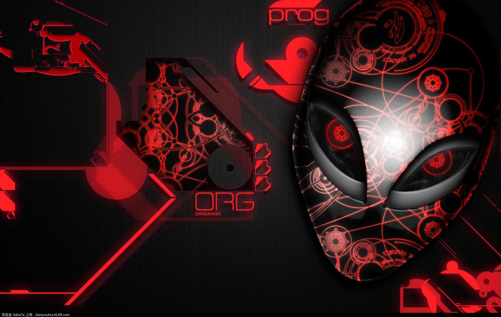 外星人论坛 69 alienware - 高清壁纸 & alienware 泡泡屏保
