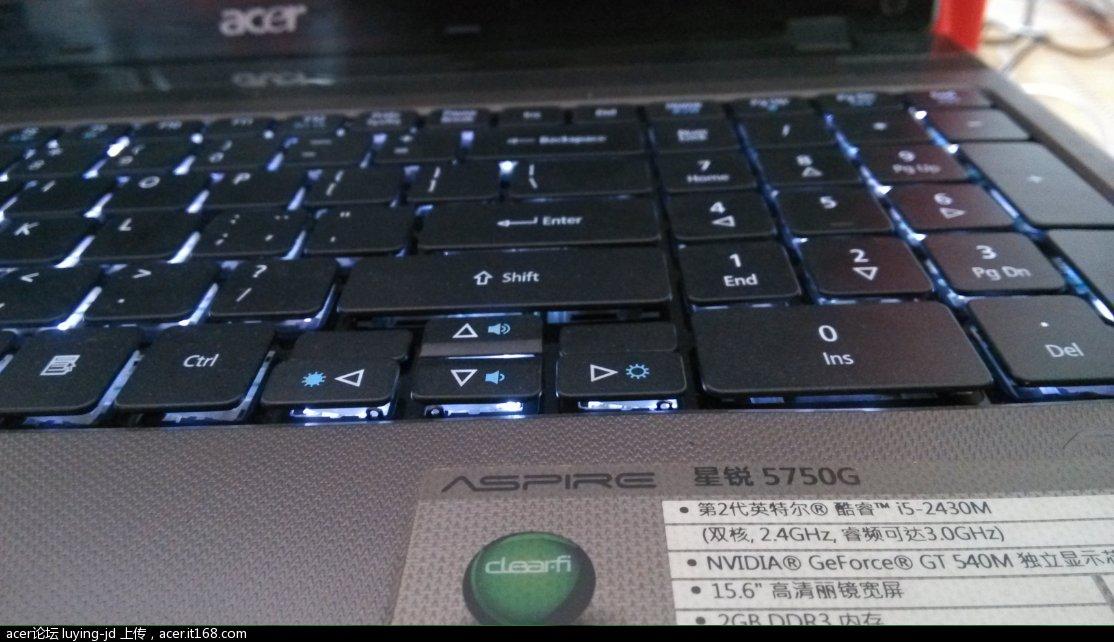 5750g背光键盘