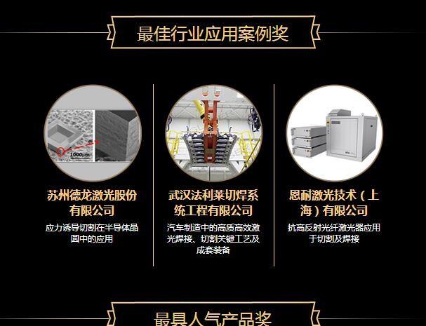 OFweek2017中国激光行业年度评选9月7日与深圳隆重举行
