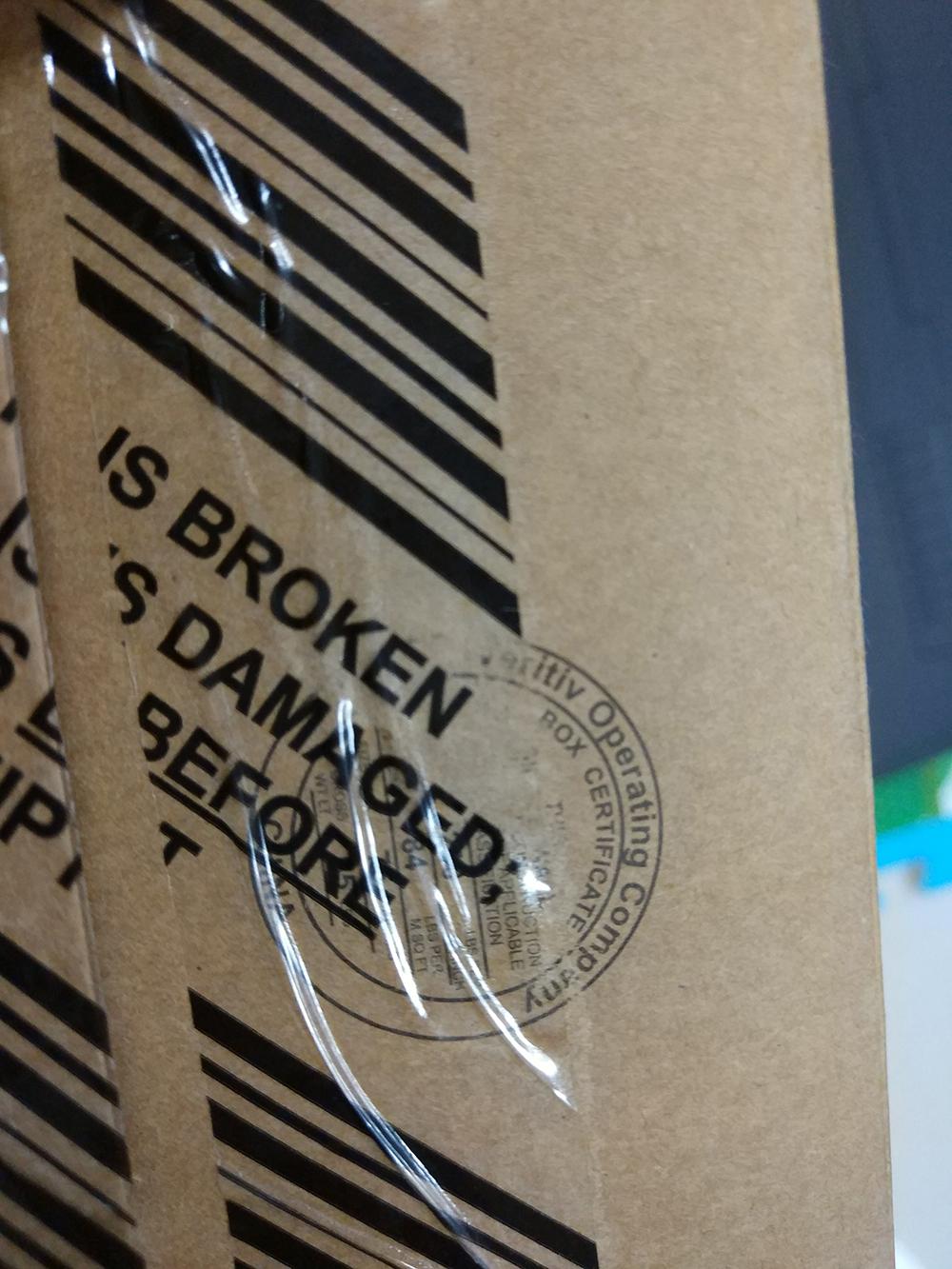 原包装上面的字体都已经没有了,抽检就不知道换个新的包装?