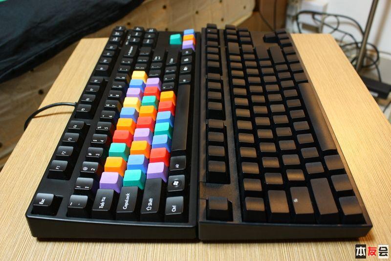 黑轴机械键盘多图简评