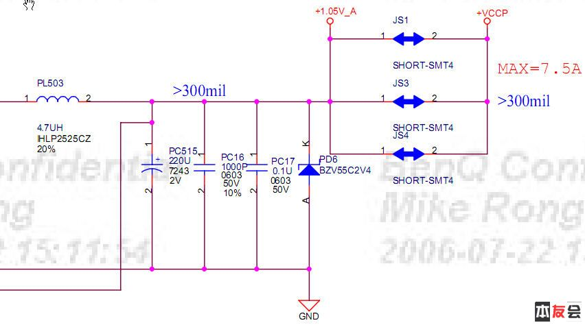 最好能换大一点的容量,如330u的,谁能这个电路原理作个详细的故障分析
