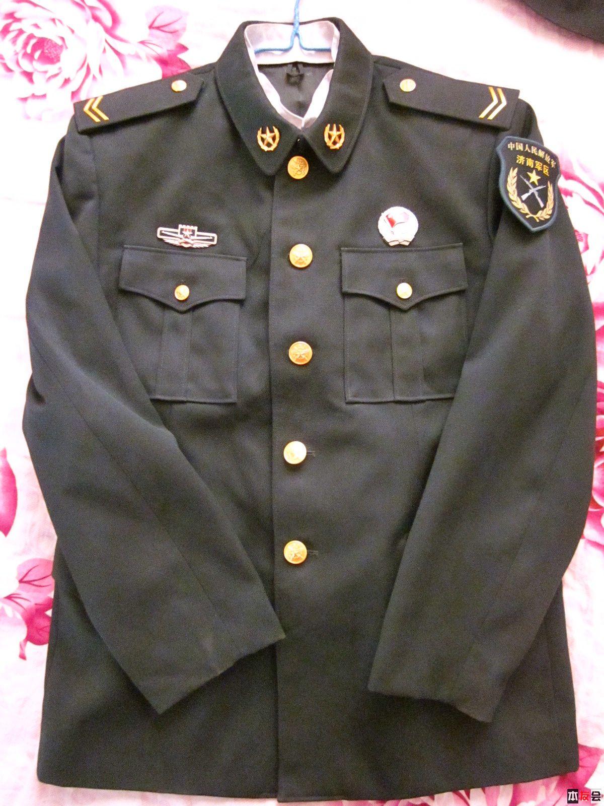 我的07士兵冬常服和春秋常服太旧了,什么时候给我换图片