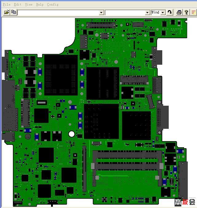 t60笔记本主板点位图资料免费下载